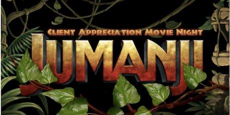 Amy Clark Team Client Appreciation Movie Night tickets