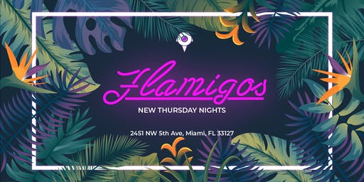 Flamigos by Dead Center Creatives @ 5th Ave