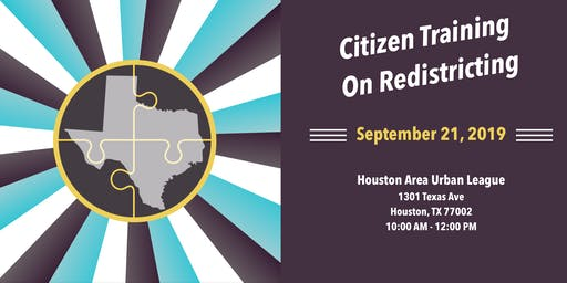Citizen Training on Redistricting