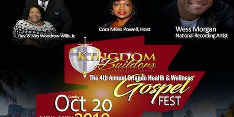 4th Annual Orlando Health & Wellness Gospel Fest tickets