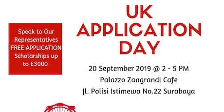 UK APPLICATION DAY in Surabaya tickets