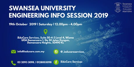 Swansea University Engineering Info Session 2019 tickets