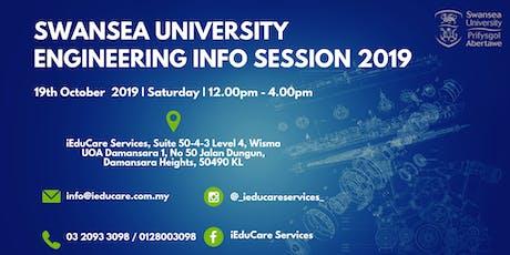 Swansea University Engineering Info Session 2019 tickets