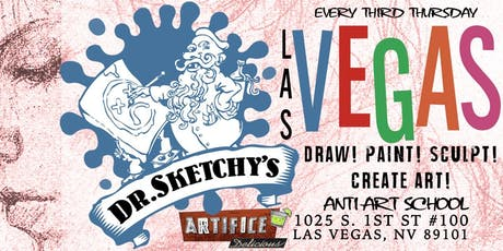 Dr. Sketchy's Las Vegas at The Artifice tickets