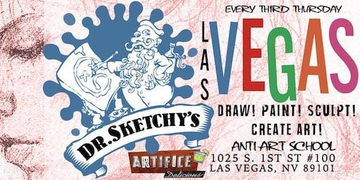 Dr. Sketchy's Las Vegas at The Artifice