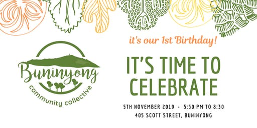 Buninyong Collective 1st Birthday!