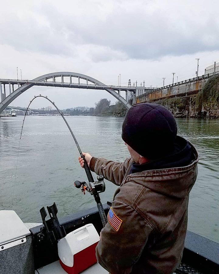 Sturgeon Fishing free for Veterans image