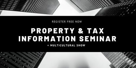 Property & Tax Seminar tickets
