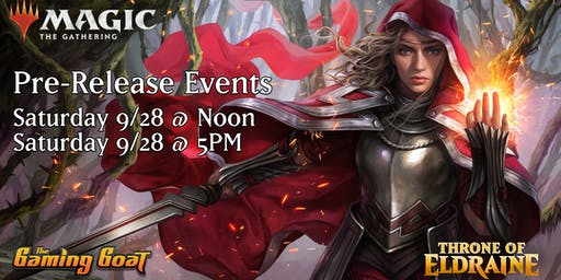 MTG Throne of Eldraine Pre-Release at the Gaming Goat Austin