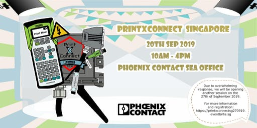 PrintXConnect Day Singapore presented by Phoenix Contact SEA