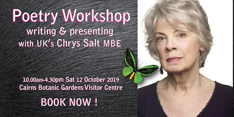 One-Day Poetry Workshop with Chrys Salt MBE tickets