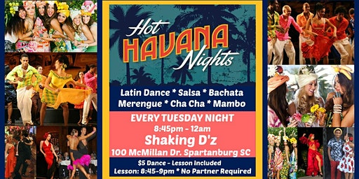 Hot Havana Nights Latin Dance - Salsa & Bachata Dance & Lesson