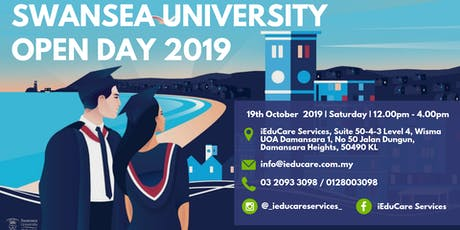 SWANSEA UNIVERSITY INFO SESSION 2019 tickets