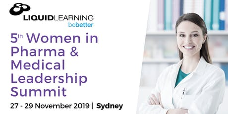 5th Women in Pharma & Medical Leadership Summit tickets