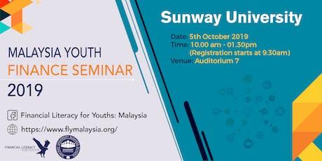 Malaysian Youth Finance Seminar (MYFS) @ Sunway University tickets