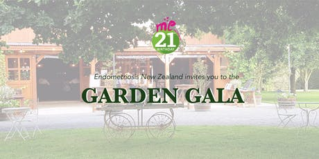 Garden Gala - 21 years of me™ Endometriosis NZ tickets