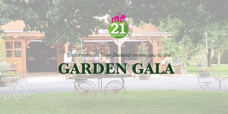 Garden Gala - 21 years of me™ Endometriosis NZ tickets
