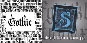 Calligraphy • Gothic Adventure (Blackletter & Versal)