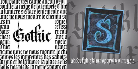Calligraphy • Gothic Adventure (Blackletter & Versal) tickets