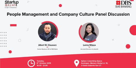 People Management and Company Culture Panel Discussion tickets