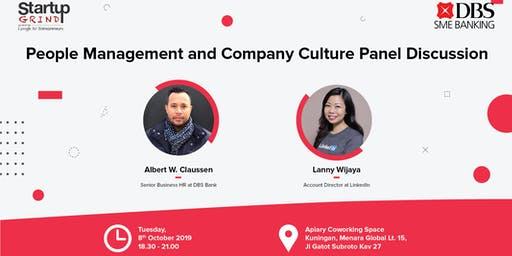 People Management and Company Culture Panel Discussion