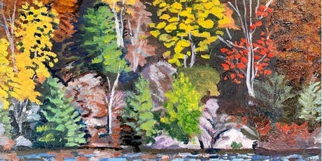 NEW! Fall Plein Air Acrylic Painting  tickets