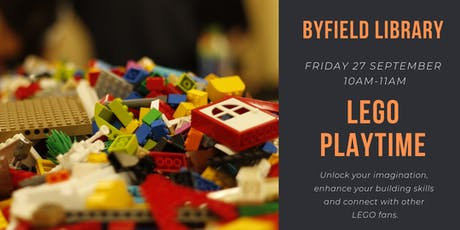 LEGO Playtime@ Byfield Library tickets