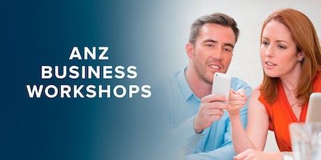 ANZ Biz Start-up Seminar, Christchurch tickets