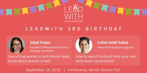 LeadWith 3rd Birthday Celebration!