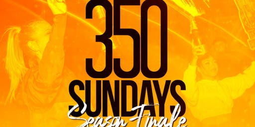 The Season Finale' Of 3Fifty Sundays on September 15th!