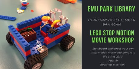 LEGO Stop Motion Movie Workshop @ Emu Park Library tickets