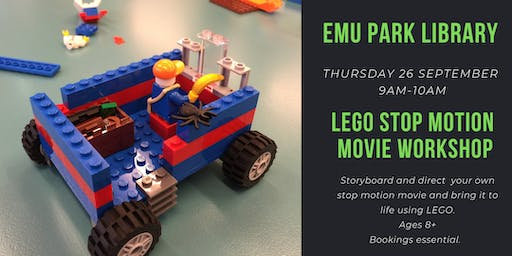 LEGO Stop Motion Movie Workshop @ Emu Park Library