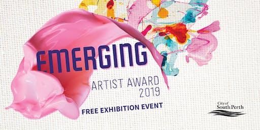 Emerging Artist Exhibition Art Talk with Mark Parfitt