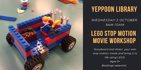LEGO Stop Motion Movie Workshop @ Yeppoon Library tickets