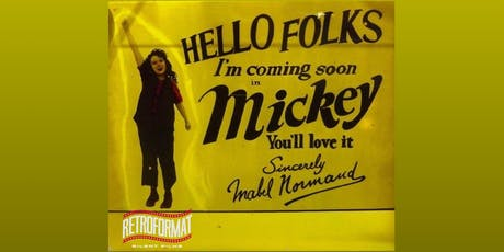 The Music Box Cinema presents Mabel Normand in Mickey (1918) tickets