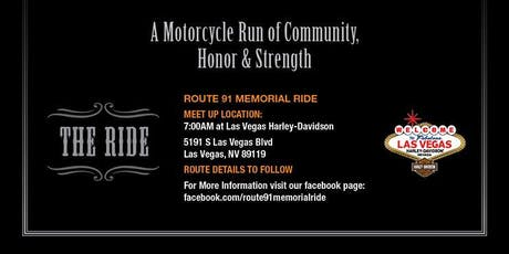 Route 91 Memorial Ride tickets