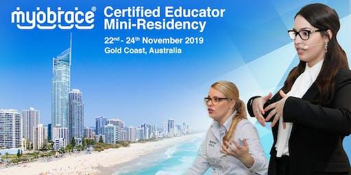 Myobrace Certified Educator Mini-Residency