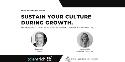 Sustain Your Culture During Growth
