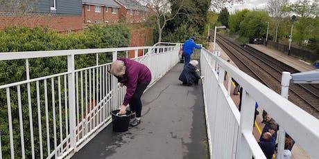 Hinckley Station Bridge Clean tickets