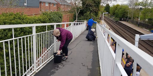 Hinckley Station Bridge Clean