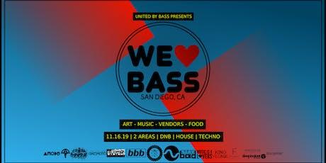 We Love Bass 2019 tickets