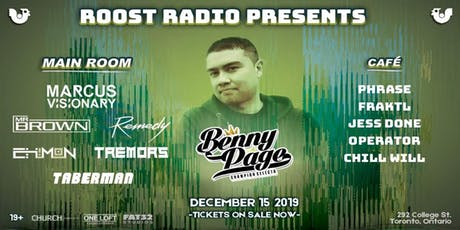 Roost Radio Presents Benny Page @ One Loft, Dec 15th tickets