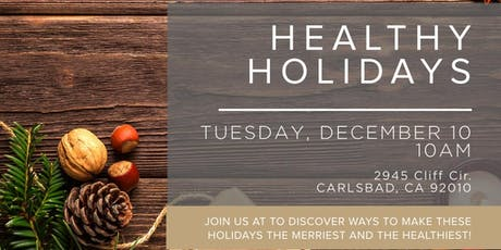 Healthy Holidays tickets