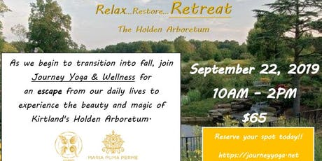 Wellness Retreat at the Holden Arboretum tickets