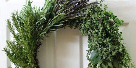 Fall Herb Wreath Making tickets