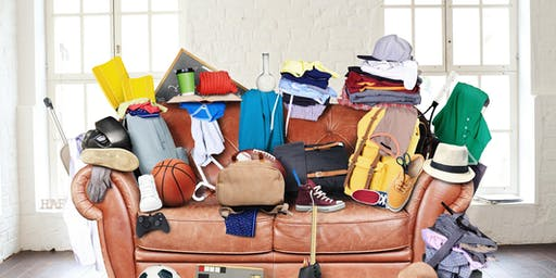 Living with Less, De-Cluttering Workshop - 28 March 2020
