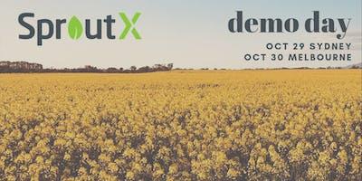 SproutX Demo Day Melbourne 2019