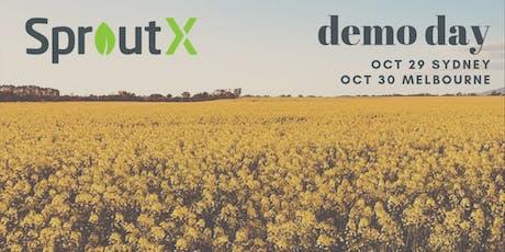 SproutX Demo Day Melbourne 2019 tickets