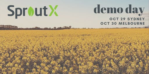SproutX Demo Day Sydney 2019