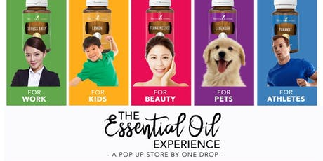 The Essential Oil Experience, A Pop-Up Store by OneDrop tickets